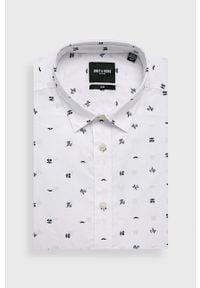 Biała koszula Only & Sons na co dzień, długa