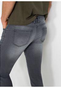 Dżinsy dresowe Skinny Fit Straight bonprix szary denim. Kolor: szary #5