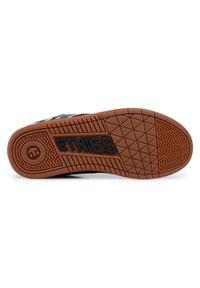 Etnies - Sneakersy ETNIES - Fader 4101000203 Black/White/Gum. Okazja: na co dzień. Kolor: czarny. Materiał: skóra ekologiczna, skóra, materiał, zamsz. Szerokość cholewki: normalna. Styl: klasyczny, casual