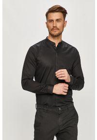 Czarna koszula Hugo długa, na co dzień