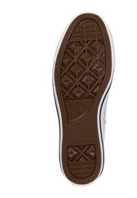 Converse - Trampki Chuck Taylor All Star. Nosek buta: okrągły. Kolor: biały. Materiał: guma