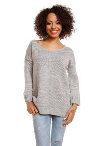 Sweter długi, na co dzień