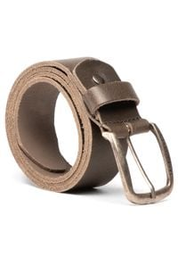 Jack & Jones - Pasek Męski JACK&JONES - Jackpaul Leather Belt 12111286 Zielony. Kolor: zielony. Materiał: skóra
