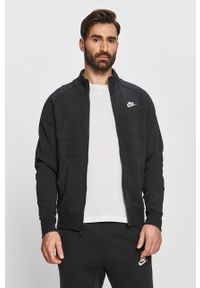 Czarny komplet dresowy Nike Sportswear z nadrukiem
