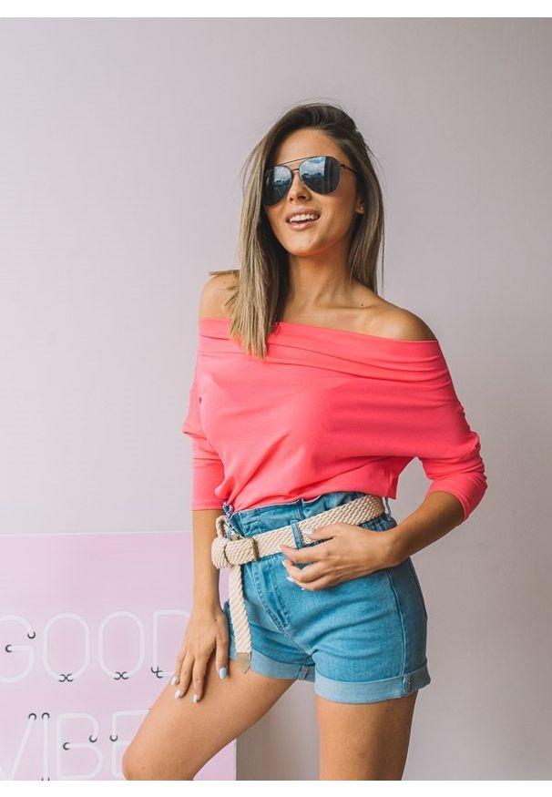 Różowa bluzka Fanaberia.com na lato