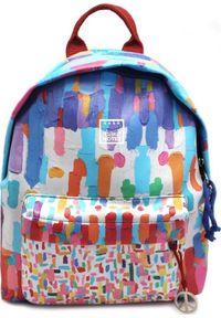 Make Notes Plecak szkolny Fine art niebieski. Kolor: niebieski