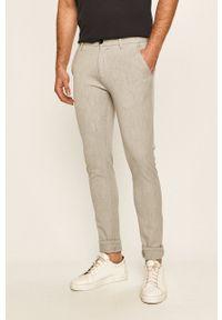 Tailored & Originals - Spodnie. Kolor: szary. Materiał: dzianina