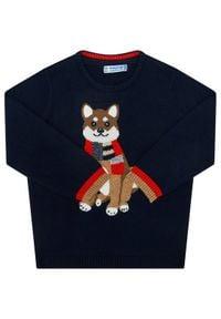 Mayoral Sweter 2345 Granatowy Regular Fit. Kolor: niebieski