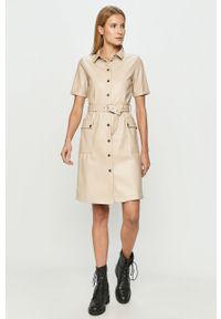 Sukienka Noisy may z krótkim rękawem, prosta, mini, na co dzień