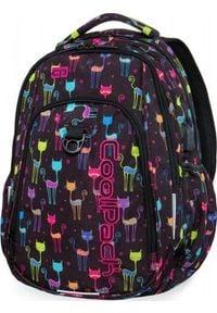 Patio Plecak szkolny Coolpack Cp Koty Cats Strike fioletowy. Kolor: fioletowy