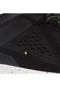 Czarne buty do biegania Icebug z cholewką