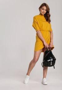 Renee - Żółta Sukienka Aquaneh. Kolor: żółty