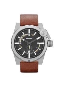 Czarny zegarek Diesel elegancki