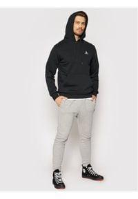 Converse Bluza Embroidered 10019923-A01 Czarny Regular Fit. Kolor: czarny