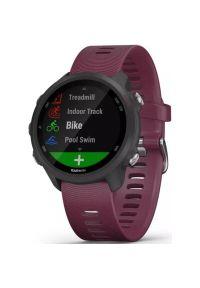 Czerwony zegarek GARMIN cyfrowy, sportowy