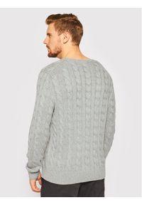 Polo Ralph Lauren Sweter 710775885013 Szary Regular Fit. Typ kołnierza: polo. Kolor: szary