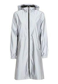 Cellbes Ocieplana kurtka odblaskowa kolor srebra female szary 50/52. Kolor: szary. Materiał: puch, polar. Sezon: jesień, zima