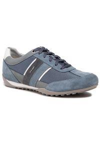 Geox Sneakersy U Wells C U52T5C 02214 C4001 Niebieski. Kolor: niebieski