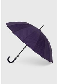 Answear Lab - Parasol. Kolor: fioletowy