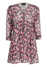 Różowa sukienka letnia The Kooples