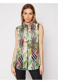 Guess Koszula W1GH0R W70Q0 Kolorowy Regular Fit. Wzór: kolorowy