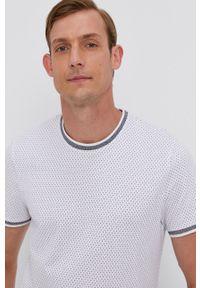 medicine - Medicine - T-shirt Basic. Kolor: biały. Materiał: dzianina