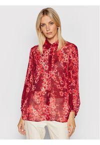 MAX&Co. Koszula Glamour 81110121 Czerwony Regular Fit. Kolor: czerwony. Styl: glamour