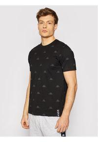 Kappa T-Shirt Izdot 309037 Czarny Regular Fit. Kolor: czarny