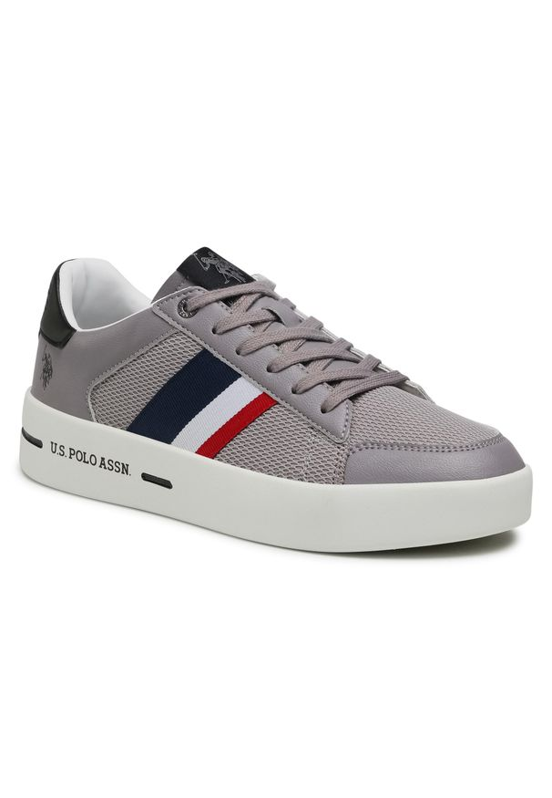 U.S. Polo Assn - Sneakersy U.S. POLO ASSN. - Vega141 VEGA4141S1/LT1 Grey. Okazja: na co dzień. Kolor: szary. Materiał: skóra ekologiczna, materiał. Szerokość cholewki: normalna. Styl: casual, sportowy
