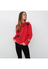 Mohito - Bluza Myszka Miki - Czerwony. Kolor: czerwony