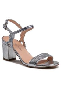 Srebrne sandały Baldaccini