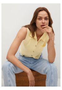 Żółta bluzka mango