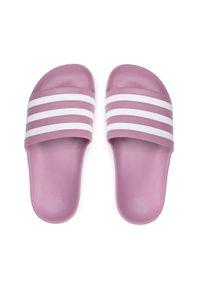 Adidas - Klapki adidas - adilette Aqua FY8107 Cherry Metallic/Cloud White/Cherry. Okazja: na co dzień. Kolor: różowy. Sezon: lato. Styl: casual