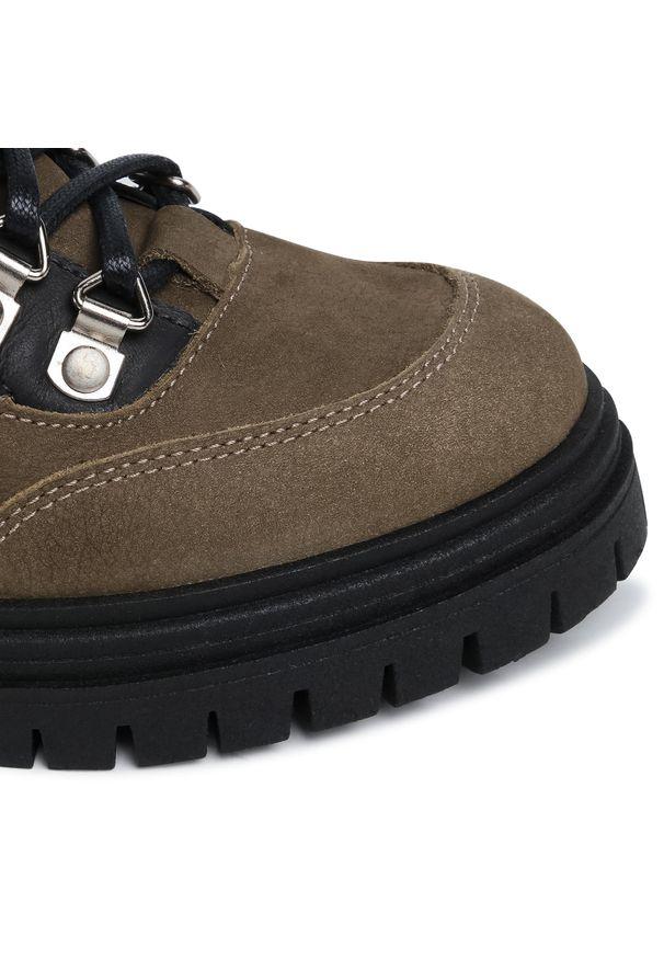 Zielone buty trekkingowe Sergio Bardi