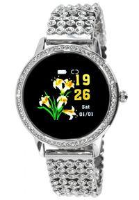 Oxe Smart Watch Stone LW20 - Inteligentny zegarek, Silver. Rodzaj zegarka: smartwatch. Styl: elegancki