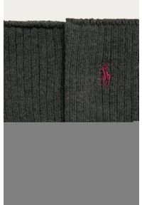 Szare skarpetki Polo Ralph Lauren