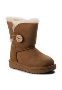 Brązowe buty zimowe Ugg