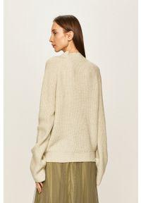 ANSWEAR - Answear - Sweter. Kolor: turkusowy. Materiał: dzianina. Długość rękawa: raglanowy rękaw