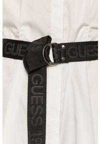 Biała koszula Guess casualowa, na co dzień