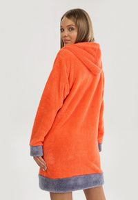 Pomarańczowy szlafrok Born2be