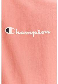 Różowa bluza rozpinana Champion bez kaptura, casualowa, na co dzień