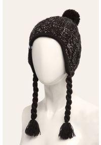 Czarna czapka New Balance melanż #3