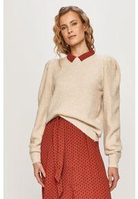 Sweter Noisy may na co dzień, długi, casualowy, z długim rękawem