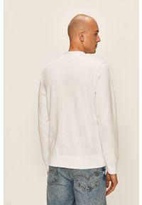 Biała bluza nierozpinana Jack & Jones z nadrukiem, casualowa