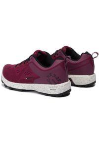Czerwone buty do biegania Icebug z cholewką