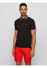 BOSS - Boss Polo Paddy 50398302 Czarny Regular Fit. Typ kołnierza: polo. Kolor: czarny