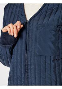 Niebieska kurtka przejściowa Rains