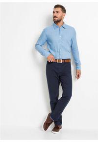 Niebieska koszula bonprix biznesowa, na spotkanie biznesowe