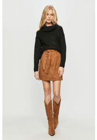 Czarny sweter only z długim rękawem, długi, z golfem #5