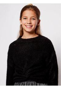 Mayoral Komplet sweter i sukienka 7974 Czarny Regular Fit. Kolor: czarny #7